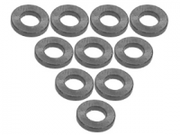 3Racing Aluminium M3 Flat Washer 1.0mm 10 Pcs - 3RAC-WF310/TI
