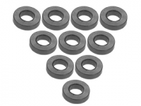 3Racing Aluminium M3 Flat Washer 1.5mm 10 Pcs - 3RAC-WF315/TI