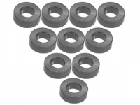 3Racing Aluminium M3 Flat Washer 2.0mm 10 Pcs - 3RAC-WF320/TI