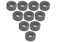 3Racing Aluminium M3 Flat Washer 2.5mm 10 Pcs - 3RAC-WF325/TI
