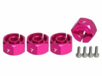 3Racing Wheel HEX Adaptor 7mm Thick - 3RAC-WX127/PK
