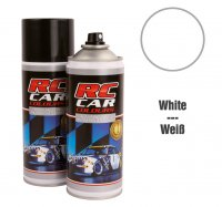RC Car Colours - White 710 150 ml. Spray Paint