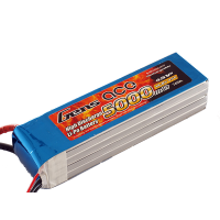 5000mAh Gens Ace 45-90C 4S1P 14.8V Lipo Battery Pack