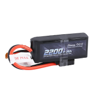 2200mAh Gens Ace 50-100C 2S1P 7.4V Lipo Battery w/TRX Connector