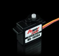 Power HD 1600A - Analog Servo 1.3kg / 0.10sec / 6g