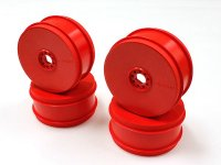 Kyosho IFH006KR - 1/8 Buggy Red Dish Wheels - 4 Pcs