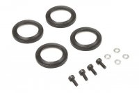 Kyosho IFW469-01 - Aeration Shock Cap Seals Set - 4 Pcs
