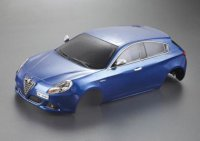 1/10 Killerbody KB48561 - Alfa Romeo Giulietta (2010) Blue finished Body 195mm