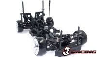 1/10 3Racing Sakura D4 RWD - Drift Car Sport Black edition (Kit Version) - KIT-D4RWDS/BK
