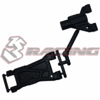 3Racing SAK-D402 - F & R Composite Suspension Arm For Sakura D4