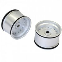Kyosho SXH002S - Scorpion XXL VE Rear Wheel Set - Silver