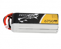6750mAh Tattu 25-50C 4S1P 14.8V Lipo Battery