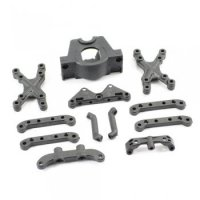 FTX FTX7249 - Surge Suspension Mount, Motor Mount and Front Shock Tower