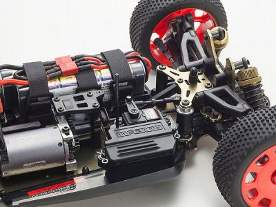 1/ 8 Racing Buggy - Kyosho Inferno VE 2.4GHz Readyset - 34101T2B