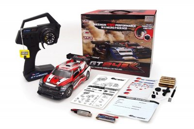 1/24 Carisma GT24R 4WD Micro Rally Car - RTR, 2.4Ghz