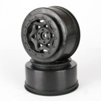 AKA 23002 - 1:10 cyclone SC Front Wheels - 2 Pcs