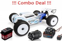 COMBO DEAL - 1/8 AGAMA A215Te Electric Truggy Kit + Hobbywing Motor and ESC + PowerHD Servo