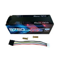 6750mAh Gens Ace100C 4S1P 14.8V High Voltage Hardcase LiPo Battery