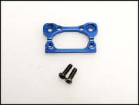 PN Racing BM001B - Mini-Z Alum Interchangeable Front Body Mount Base - Blue