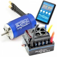 Etronix Photon 1:8 Brushless Sensorless Combo - 2150kW Motor with 120A ESC + Program Card - ET0435