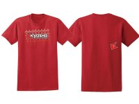 Kyosho T-Shirt K-FADE 2.0 Red L-size - 88002-L