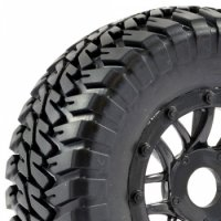 Fastrax FAST0055B - Canyon Short Course Tyres with 12/17mm HEX - 2 Pcs