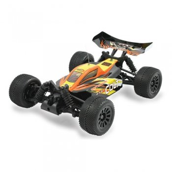 1/18 FTX Colt 4WD Brushed Mini Buggy RTR, 2.4GHz - Black/Orange