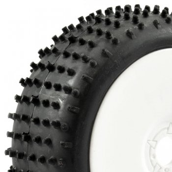 Fastrax 1:8 Buggy Lugger Mounted Tyres - FAST1010WD