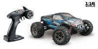 1/16 Absima 4WD  Monster Truck SPIRIT Black/Blue (2.4Ghz, RTR) - 16002