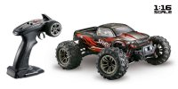 1/16 Absima 4WD Monster Truck SPIRIT Black/Red (2.4Ghz, RTR) - 16001