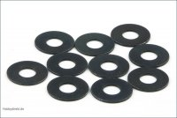 Kyosho 1-W401005 - Washers 4x10x0.5mm - 10 Pcs
