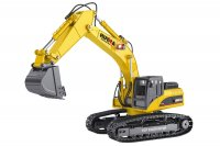 HuiNa 1:14 23-Channel 2.4G Full Metal Excavator - CY1580