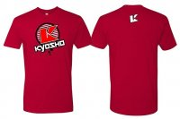 Kyosho Kyosho T-Shirt K-Circle Red L-Size - 88008-L