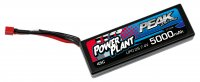 5000mAh Peak Racing 45C 2S1P 7.4V Hard Case Lipo Battery