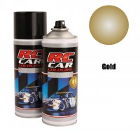 RC Car Colours - Gold Metalic 910 150 ml. Spray Paint