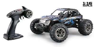 1/16 Absima 4WD High Speed Sand Buggy Black/Blue (2.4Ghz, RTR) - 16006