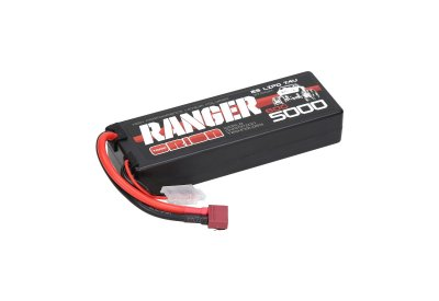 5000mAh Team Orion Ranger 60C 2S1P 7.4V Hard Case Lipo Battery - ORI14313